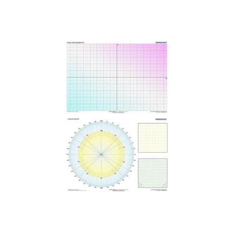 DUO Układ współrzędnych / Diagram kołowy