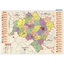 Dolnośląskie - mapa administracyjna