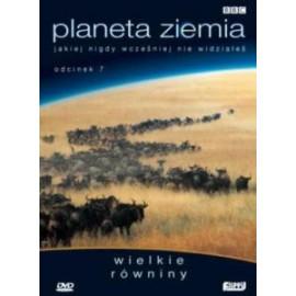 PLANETA ZIEMIA - WIELKIE RÓWNINY - DVD