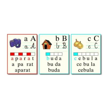 Zestaw literowo-obrazkowy