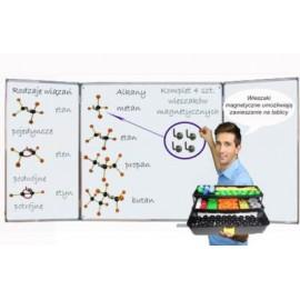 Zestaw do budowy modeli cząsteczek i wiązań chem.