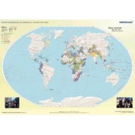 Rejony konfliktów na świecie w latach 1990-2011