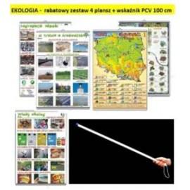 EKOLOGIA rabatowy zestaw 7 plansz + wskaźnik PCV