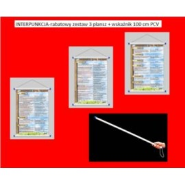 INTERPUNKCJA-rabatowy zestaw 3 plansz + wskaźnik