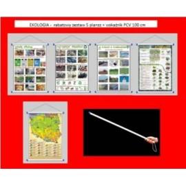 EKOLOGIA - rabatowy zestaw 7 plansz + wskaźnik PCV