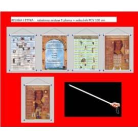 RELIGIA I ETYKA -  rabatowy zestaw 5 plansz + wska