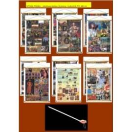 SZTUKA POLSKA -  rabatowy zestaw 12 plansz + wskaź