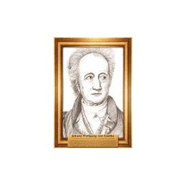 Portrety pisarzy Wolfgang Goethe