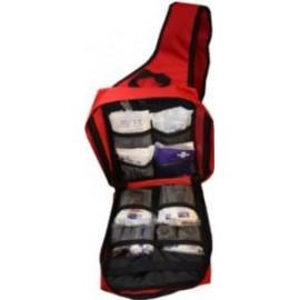 Apteczka plecakowa duża+szyna+ciśnieniomierz