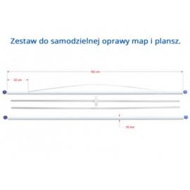 ZESTAW DO SAMODZIELNEJ OPRAWY PLANSZ / MAP 162 cm