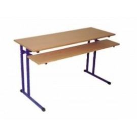 Biurko Robert ze stałą półką