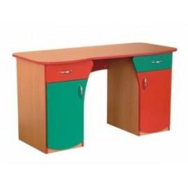Biurko Ola dwie szafki i dwie szuflady