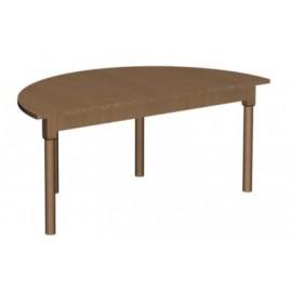 Stół półokrągły 1200x600