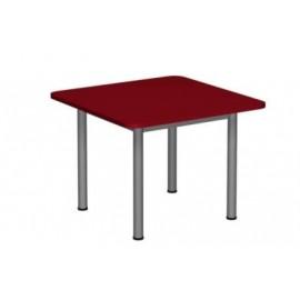 Stół kwadratowy 700x700 noga fi 40