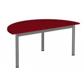 Stół prostokątny 1200x700 noga fi 40