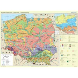 Geomorfologia Polski - typy rzeźby i ich pochodzen