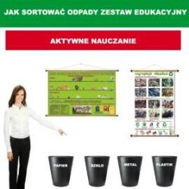 Jak sortować odpady - zestaw edukacyjny