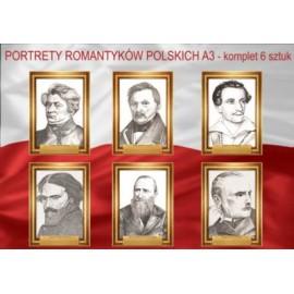 Portrety romantyków polskich zestaw rabatowy 6 szt