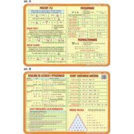 Matematyka 031 - podkładka 40x30 cm