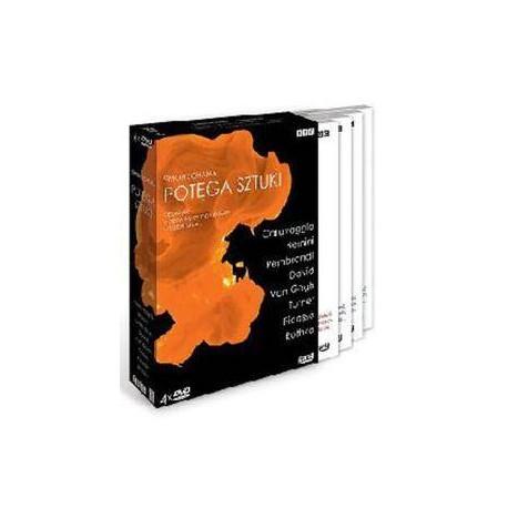 POTĘGA SZTUKI - BOX - DVD