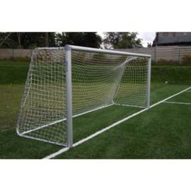 Bramka do piłki nożnej 5x2 m aluminiowa do tulei
