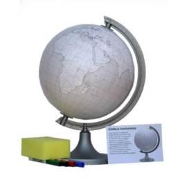 Globus konturowy (z pisakami) 250 mm