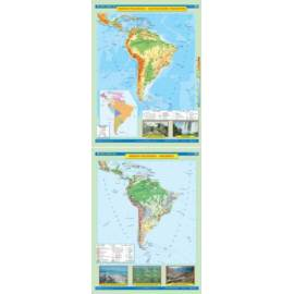 Ameryka południowa. Ukształtowanie powierzchni/Kra