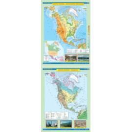 Ameryka północna. Ukształtowanie powierzchni/Krajo