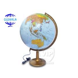 Globus polityczno-fizyczny podświetlany 42 cm