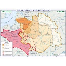 KSIĘSTWO LITEWSKIE 1240-1430 KRÓLESTWO POLSKI ZA