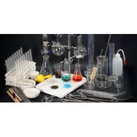 Zestaw szkła laboratoryjnego