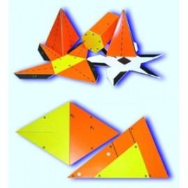 Siatki brył i figur geometrycznych