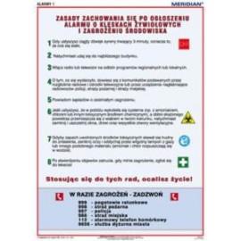 Alarmy 1! Zasady zachowania się po ogłoszeniu alar