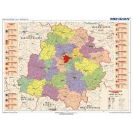 Łódzkie - mapa administracyjna