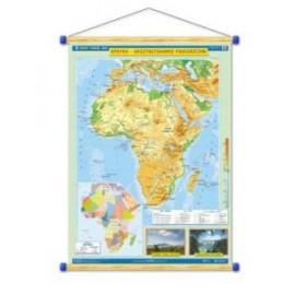 Afryka. Ukształtowanie powierzchni/Krajobrazy