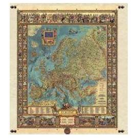 Mapa europy 97 x 121 cm