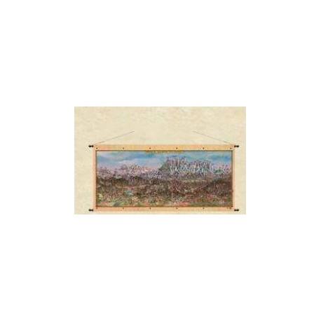 Panorama Małopolski Południowej 97 x 47 cm