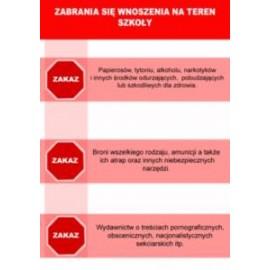 Tablica ostrzegawcza - Zakaz wnoszenia