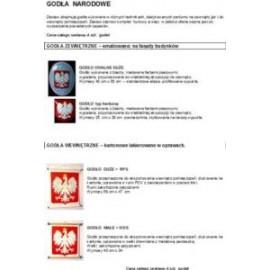 Promocyjny zestaw - Nasze polskie godło