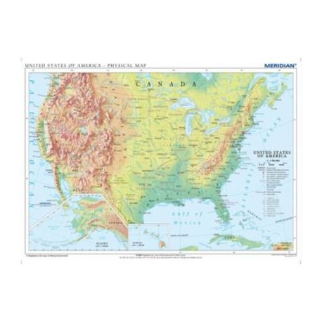 United States of America (USA) physical