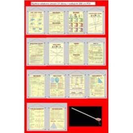 Algebra-rabatowy zestaw 14 plansz + wskaźnik PCV