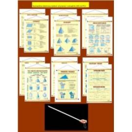 Geometria-rabatowy zestaw 12 plansz + wskaźnik PCV
