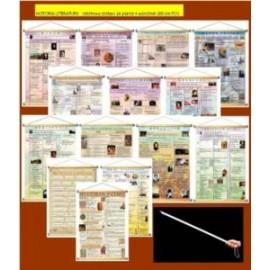 HISTORIA LITERATURY - rabatowy zestaw 14 plansz +