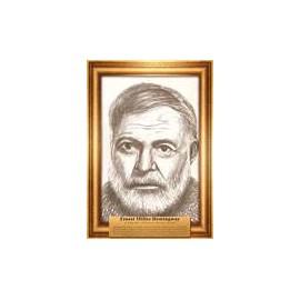 Portrety pisarzy Hemingway