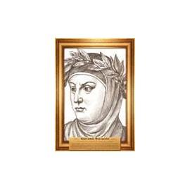 Portrety pisarzy Boccaccio