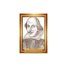 Portrety pisarzy Szekspir