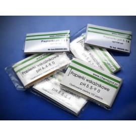 Paski wskaźnikowe zakres pH 5.5-9.0 - 100 szt.