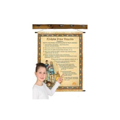 Kodeks Praw Dziecka 68 x 90 cm