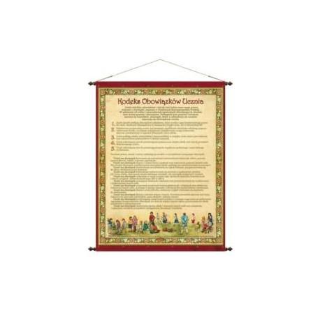 Kodeks Obowiązków Ucznia 68 x 90 cm