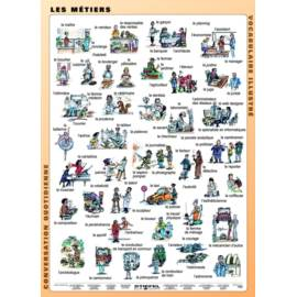 Les Metiers - Zawody FR 120x160 cm